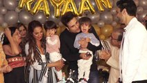 Krushna Abhishek & Kashmira Shah celebrate their twins's grand birthday; Watch Video | FilmiBeat