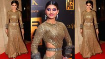 Urvashi Rautela looks super hot in shimmery dress at Urbane awards; Watch video | FilmiBeat