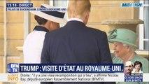 Donald Trump et son épouse sont reçus par la reine Elizabeth II