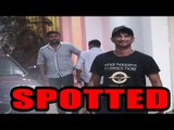 Sushant Singh Rajput spotted at Recording Studio