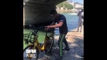 La pêche à l'aimant, le nouveau sport écolo pour dépolluer la Seine