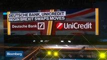 Deutsche Bank, UniCredit Begin Brexit Swaps Move From London