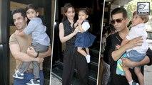Yash, Roohi, Inaaya Attend Tusshar Kapoor's Son Lakshya's Birthday Party