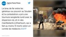 Soudan. Au moins 13 morts lors la dispersion violente du sit-in de la contestation