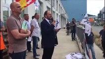 GE Belfort : assemblée générale des syndicats avant l'arrivée de Bruno Le Maire
