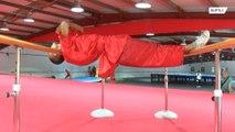 Shaolin monks perform BACKBREAKING feats of strength at Beijing demo