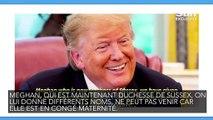 Donald Trump critique Meghan Markle