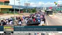 Condenan médicos hondureños represión del gobierno a manifestantes