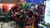 Au coeur du vestiaire de Liverpool après la victoire en finale de Ligue des Champions