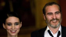Joaquin Phoenix and Rooney Mara join Animal Rights Protest in Hollywood