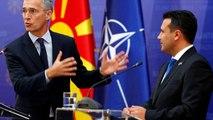 Macédoine du Nord : le satisfecit du patron de l'OTAN