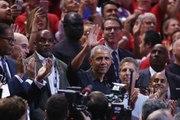 Barack Obama Steals NBA Finals Spotlight in Drake's Hometown of Toronto