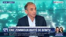 """Eric Zemmour: """"François-Xavier Bellamy a payé une histoire de la droite depuis 30 à 40 ans"""""""