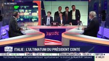 Italie: L'ultimatum du président Giuseppe Conte