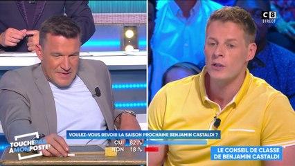 Matthieu Delormeau horrible avec Benjamin Castaldi