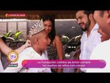 ¡Sajid y Andrés Tovar llevaron a conocer el mar a un grupo de niñas! | Sale el Sol