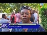 RTB - Remise de cartes nationales d'identités aux Burkinabè de Belgique à Bruxelles, par le Ministre de l'Intégration Africaine et des Burkinabè de l'extérieur, Paul Robert TIENDREBEOGO
