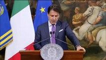 Presidente Giuseppe Conte Conferenza stampa a Palazzo Chigi 03/06/2019 - MoVimento 5 Stelle
