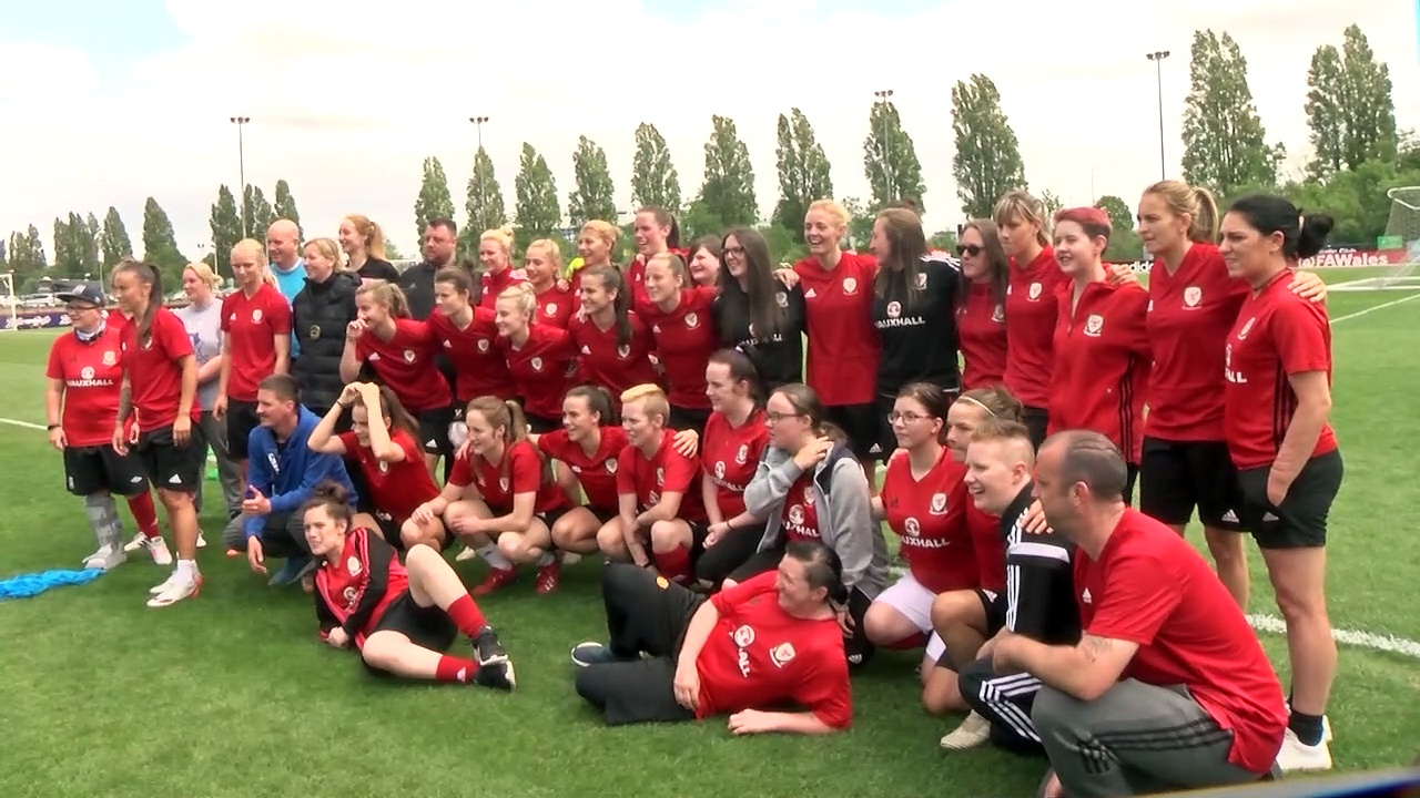 The Women's Homeless Football World Cup Training!