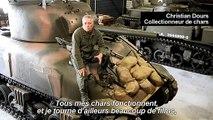 Il collectionne les chars de la Seconde Guerre mondiale