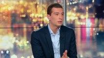 """Jordan Bardella: """"Macron a réuni le pire de la droite et de la gauche, nous, nous rassemblons le meilleur de la droite et de la gauche"""""""