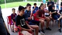 Les U17 supporters du foot anglais !