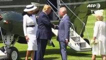 Trump bei den Royals in London: Misstöne und Pomp