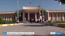Irak : onze Français condamnés à mort pour appartenance à Daech