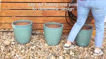 How to Build a Drip Irrigation System for Containers