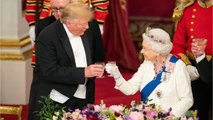 Queen Elizabeth Inspected Every Detail Of Trump's Lavish Buckingham Palace Banquet