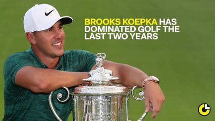 How Does Brooks Koepka's Run Compare to Other Major Streaks?