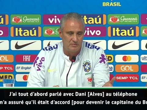 Brésil - Tite révèle comment il a destitué Neymar du brassard de capitaine