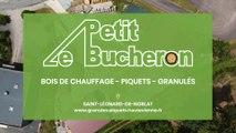 Le Petit Bûcheron, bois de chauffage, piquets et granulés à St-Léonard-de-Noblat.