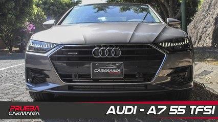 Audi A7 55 TFSI a prueba