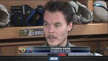 Tuukka Rask Says Blues Were 'More Desperate' In Game 4 Of Stanley Cup Final