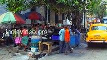 Tandoor roti & Sabji Street foods of Kolkata