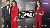 Katrina Kaif COPIES Anushka Sharma GQ Best Dressed Pant Suit 2019