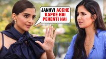 Sonam Kapoor TAUNTS Katrina Kaif Over Her Comment On Janhvi Kapoor's Clothes?