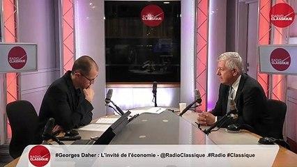 """""""La France est un pays d'aviation. Les compagnies aériennes françaises sont soumises à une rude compétition et à de nombreuses taxes. C'est le seul secteur qui paye ses propres infrastructures."""" Georges Daher (04/06/19)"""