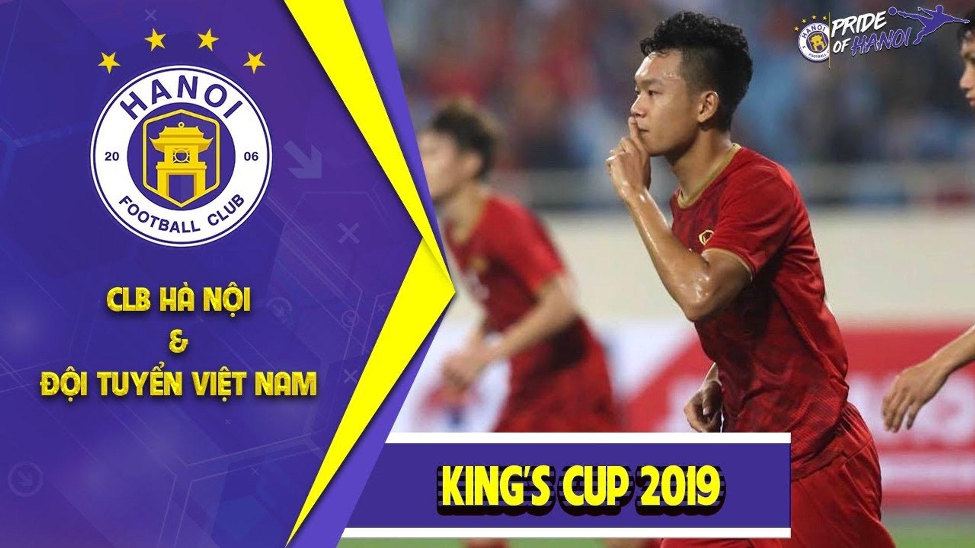 Thành Chung - Sự bổ sung hoàn hảo cho vị trí của Đình Trọng trong màu áo ĐTVN tại King's Cup