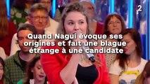 Quand Nagui évoque ses origines et fait une blague  étrange à une candidate !