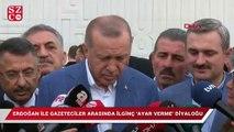 Erdoğan ile gazeteciler arasında ilginç 'ayar verme' diyaloğu