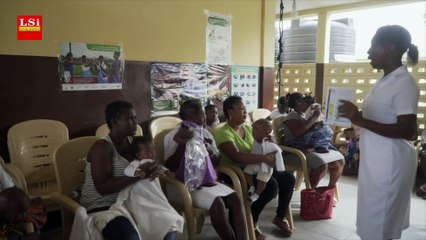 Ghana, premier vaccin contre le paludisme des bébé
