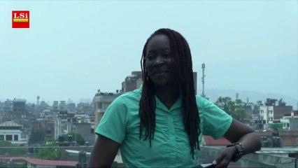 Première africaine noire à gravir l'Everest