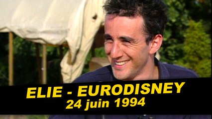 Elie est dans Coucou c'est nous à Eurodisney - Emission complète