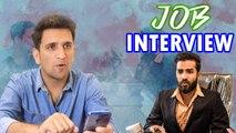 Job Interview || Funny Interaction with boss ||  Kiraak Hyderabadiz