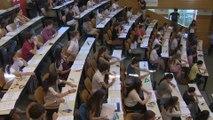 Típicos nervios de los estudiantes al inicio de la EvAU