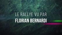 Le rallye vu par Florian Bernardi