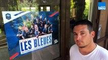 Vincent Faure, ami et coéquipier d'Eugénie Le Sommer au Trélissac FC