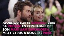 Miley Cyrus : La chanteuse se fait embrasser de force dans le dos de son mari Liam Hemsworth